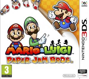 Echanger le jeu Mario Luigi Paper Jam sur 3DS