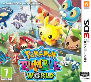 Echanger le jeu Pokemon Rumble World sur 3DS