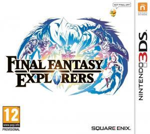 Echanger le jeu Final Fantasy Explorers sur 3DS
