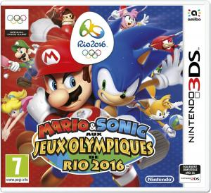Echanger le jeu Mario & Sonic aux Jeux Olympiques de Rio 2016 sur 3DS