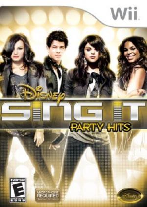 Echanger le jeu Sing it Party Hits (Microphone requis) sur Wii