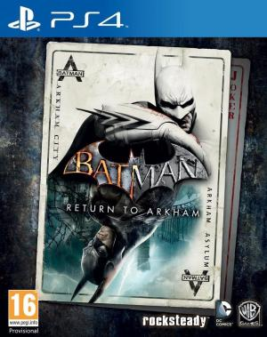 Echanger le jeu Batman : Return to Arkham sur PS4