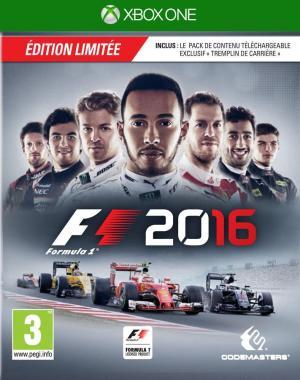 Echanger le jeu F1 2016 sur Xbox One