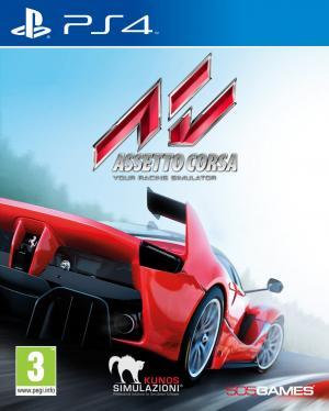 Echanger le jeu Assetto Corsa sur PS4