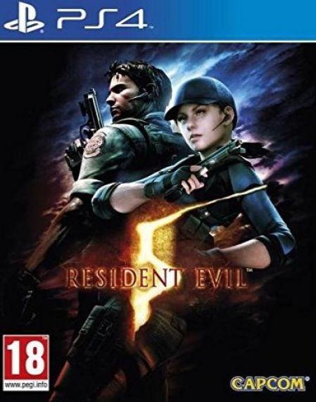 Echanger le jeu Resident Evil 5 HD sur PS4