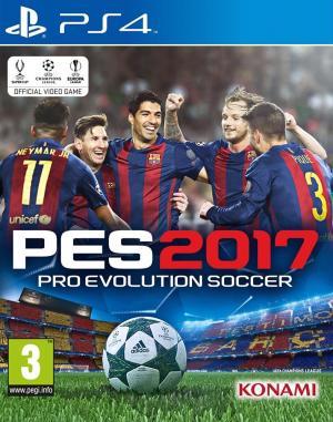 Echanger le jeu PES 2017 : Pro Evolution Soccer sur PS4