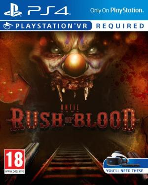 Echanger le jeu Until Dawn: Rush Of Blood (PS-VR requis) sur PS4