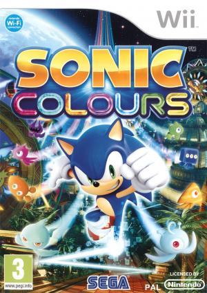 Echanger le jeu Sonic Colours sur Wii