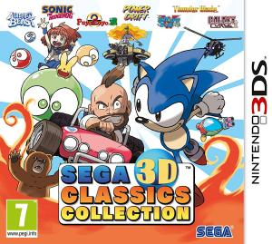 Echanger le jeu Sega 3D Classics Collection sur 3DS