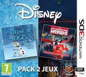 Echanger le jeu Disney pack 2 jeux : La Reine des Neiges + Les Nouveaux Heros sur 3DS