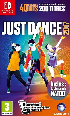 Echanger le jeu Just Dance 2017 sur Switch