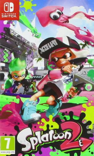 Echanger le jeu Splatoon 2 sur Switch