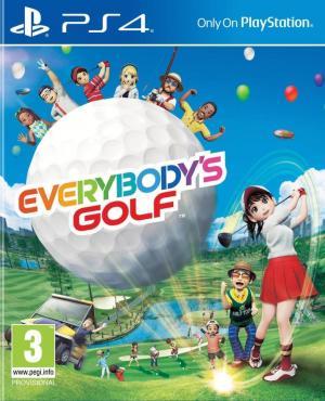 Echanger le jeu Everybody's Golf  sur PS4