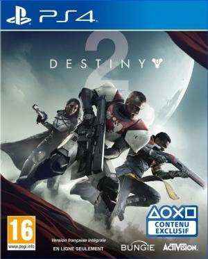 Echanger le jeu Destiny 2 sur PS4