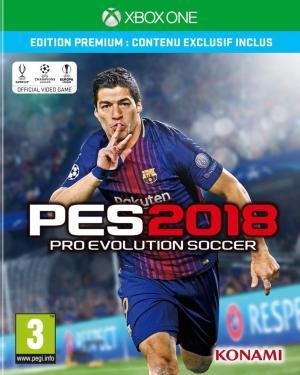 Echanger le jeu PES 2018 sur Xbox One