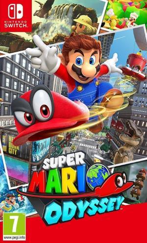 Echanger le jeu Super Mario Odyssey sur Switch