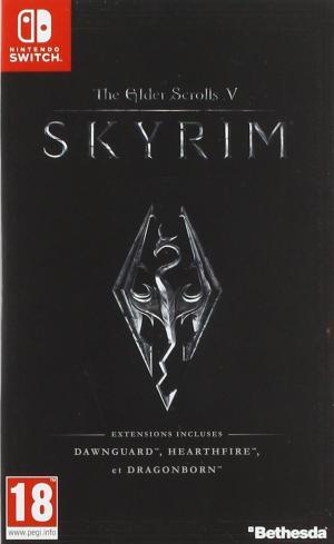 Echanger le jeu Skyrim sur Switch