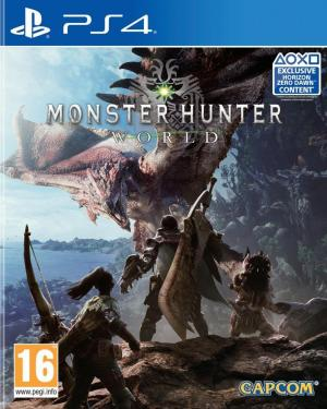 Echanger le jeu Monster Hunter World sur PS4