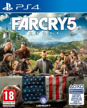 Echanger le jeu Far Cry 5 sur PS4