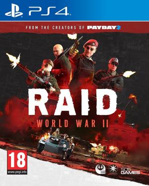 Echanger le jeu RAID World War II sur PS4