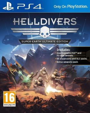 Echanger le jeu Helldivers sur PS4