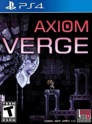 Echanger le jeu Axiom Verge sur PS4