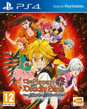 Echanger le jeu The Seven Deadly Sins: Knights of Britannia sur PS4