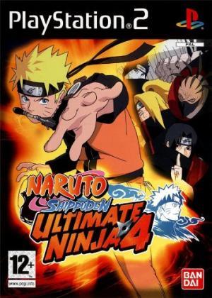 Echanger le jeu Naruto Shippuden Ultimate Ninja 4 sur PS2