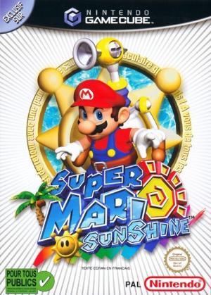 Echanger le jeu Super Mario Sunshine sur GAMECUBE