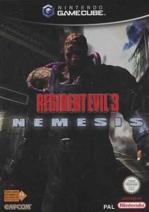Echanger le jeu Resident Evil 3 Nemesis sur GAMECUBE