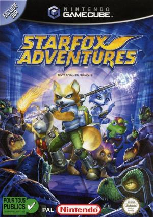 Echanger le jeu Starfox Adventures sur GAMECUBE