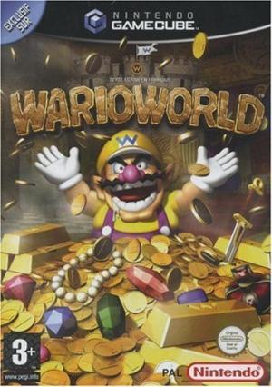Echanger le jeu Wario World sur GAMECUBE