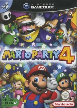 Echanger le jeu Mario Party 4 sur GAMECUBE