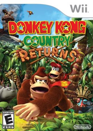 Echanger le jeu Donkey Kong Country Returns sur Wii