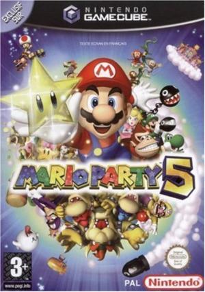 Echanger le jeu Mario Party 5 sur GAMECUBE