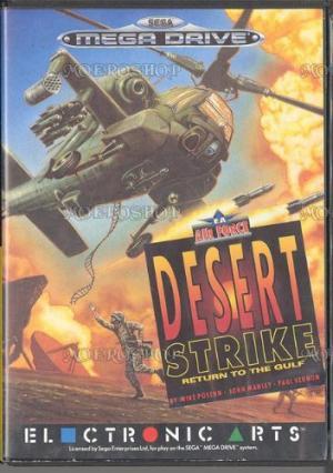 Echanger le jeu desert strike Return to the gulf  sur MEGADRIVE