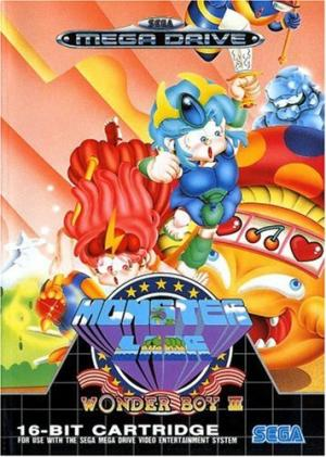 Echanger le jeu Wonder Boy 3 Monster Land  sur MEGADRIVE