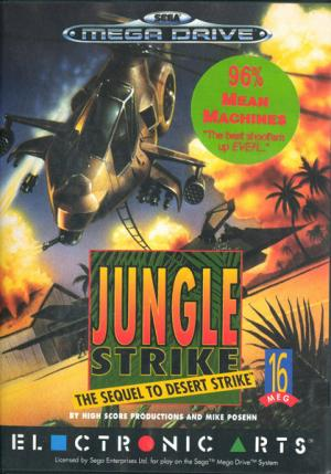 Echanger le jeu Jungle strike: the sequel to desert strike  sur MEGADRIVE