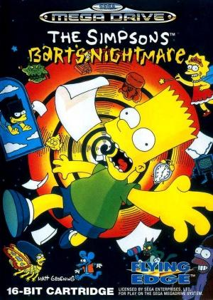 Echanger le jeu The Simpsons Bart's Nightmare  sur MEGADRIVE