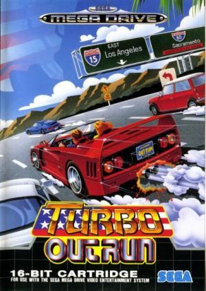 Echanger le jeu Turbo Outrun sur MEGADRIVE