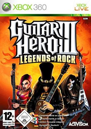 Echanger le jeu Guitar hero 3: Legends of Rock sur Xbox 360