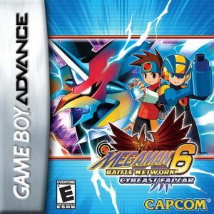 Echanger le jeu Megaman 6 Battle Network Cybeast Falzar sur GBA