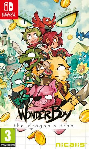 Echanger le jeu Wonder Boy: The Dragon's Trap sur Switch