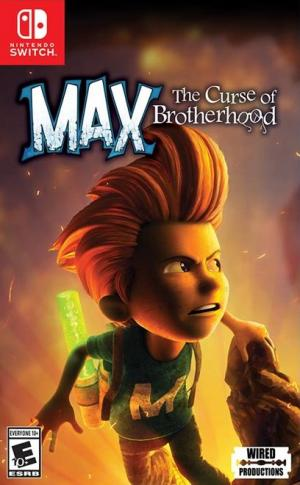 Echanger le jeu Max: The Curse of Brotherhood sur Switch