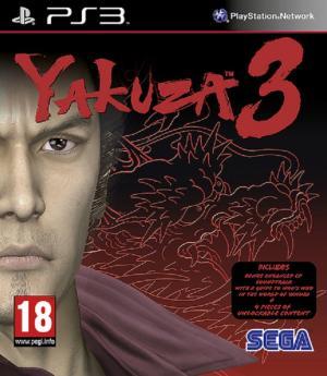 Echanger le jeu Yakuza 3 sur PS3