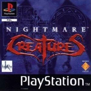 Echanger le jeu Nightmare Creatures sur PS1