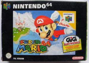 Echanger le jeu Super Mario 64 sur N64