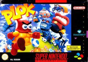 Echanger le jeu Plok sur SUPER NES