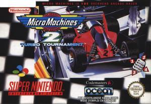 Echanger le jeu Micro machines 2 Turbo tournament  sur SUPER NES