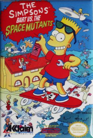 Echanger le jeu The Simpsons : Bart vs. the space mutants sur NES